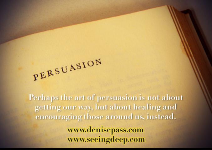 Persuasion Graphic Seeing Deep